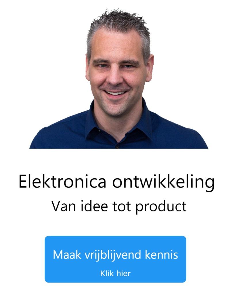 Elektronica ontwikkeling van idee tot product - Maak kennis met Anton Driessen
